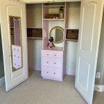 DIY Closet Makeover with Lilac Lane by Valspar